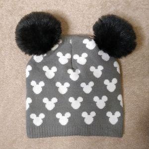 Fur pum Girls Mickey Mouse Hat